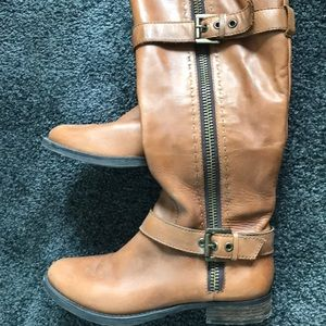 Used Brown Leather boots